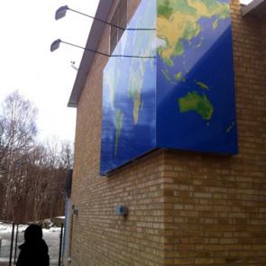 Public work/offentligt uppdrag: Just around the corner, Nya Lundbyskolan Göteborg 2010