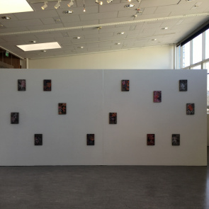 Painting/Måleri: Repeated events (A bigger picture), Tyresö konsthall 2018